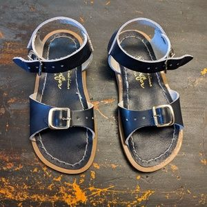 Saltwater Sandals by Hoy Surfer in Navy